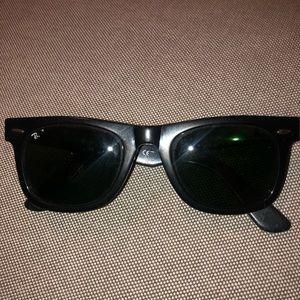 Used ray ban sunglasses